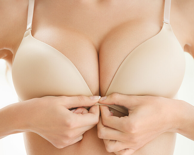 Brustvergrößerung, Nachbehandlung Brust OP, Narben Brust OP